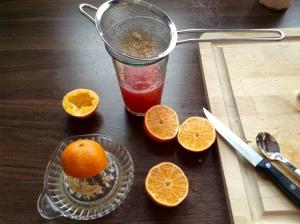 DIY Vitaminbombe - Mandarinen auspressen