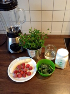 Green Smoothie light - Zutaten