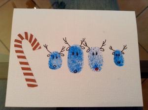 DIY Weihnachtskarten - Verziehrung