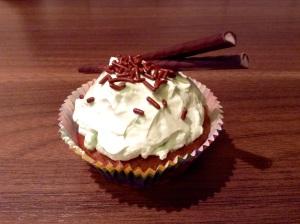 Schoko-Minz-Cupcakes - oder Minze-Stangen
