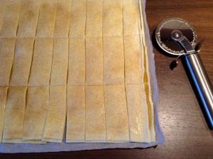 Rezept Apfel-Zimt-Sticks -  Sticks zuschneiden