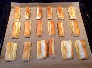 Rezept Apfel-Zimt-Sticks - Sticks fertig gebacken