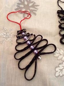 DIY Textil Weihnachtsbäumchen