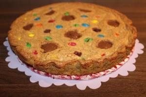 Erdnussbutter Keks Kuchen