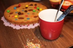 Keks Kuchen Erdnussbutter Cookie Cake