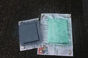 DIY Leinwände besprühen - Leinwand vorgrundiert