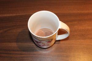 Lavendel Kakao - Kakaopulver in die Tasse