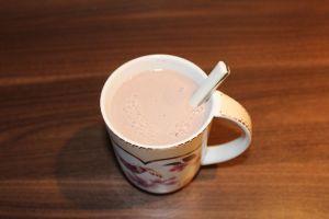 Lavendel Kakao - gut umrühren