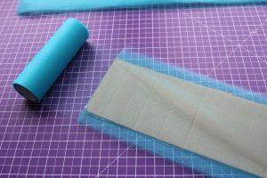 DIY Tutu - Tüll auf Karton wickeln