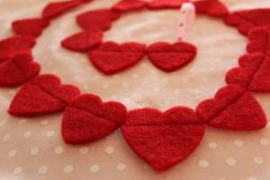 DIY Herz-Girlande - Girlande mit Herz