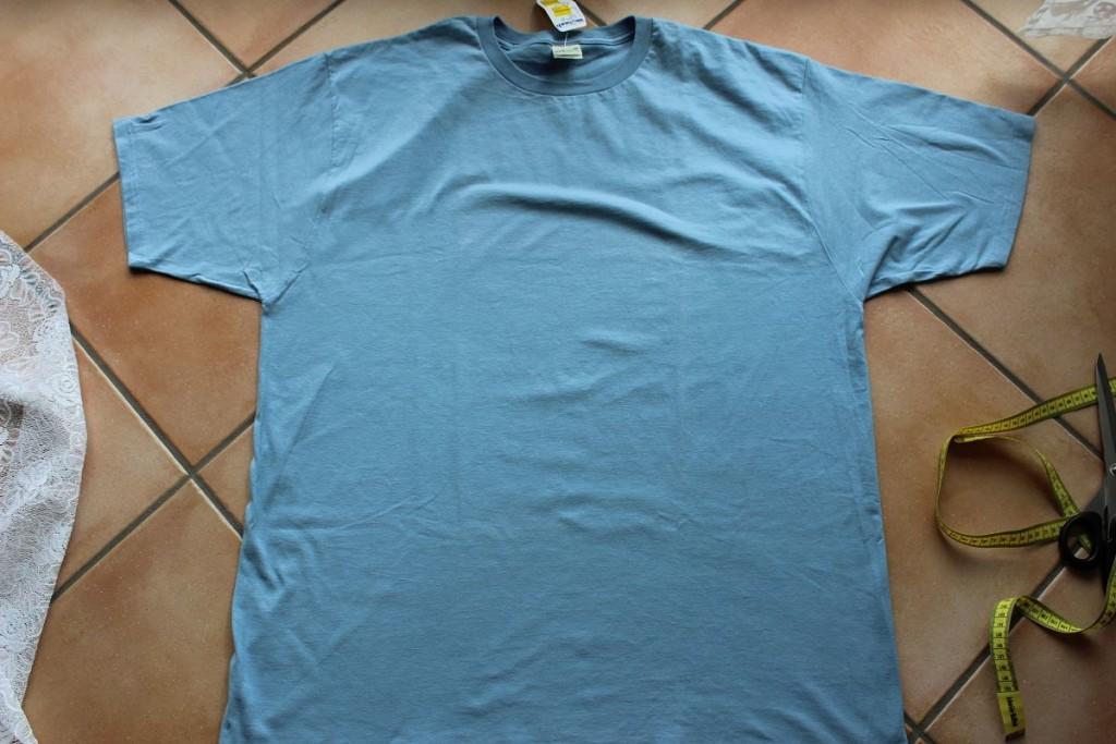 Tshirt glatt hinlegen
